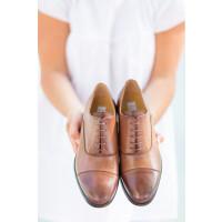 Schuhe Hyde in Farbe Cuoio