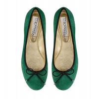 Green ballerinas